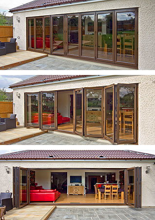 freplacement and new folding, bi-fold doors