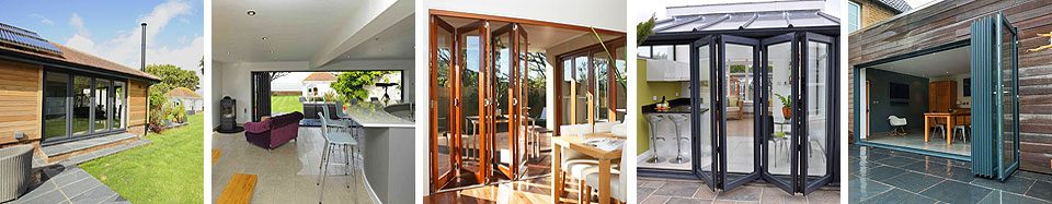 bi-fold doors from New Leaf